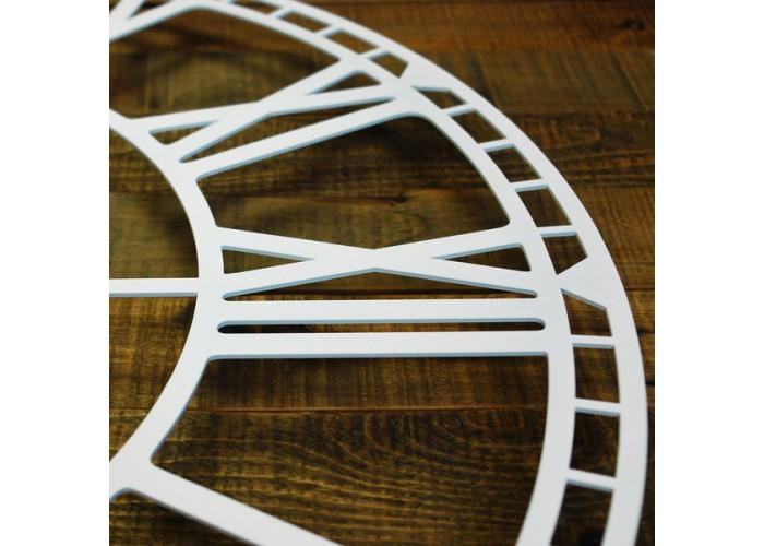 Большие Настенные Часы Glozis Oxford White B-032 70х70  6