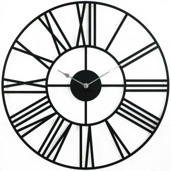 Большие Настенные Часы Glozis Cambridge Black B-033 70х70