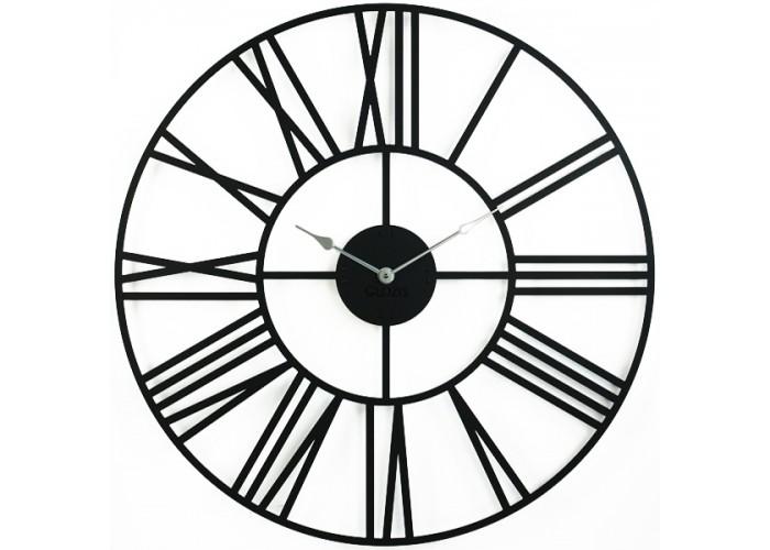 Большие Настенные Часы Glozis Cambridge Black B-033 70х70  1