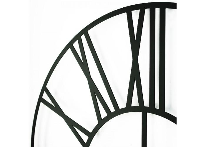 Большие Настенные Часы Glozis Cambridge Black B-033 70х70  4