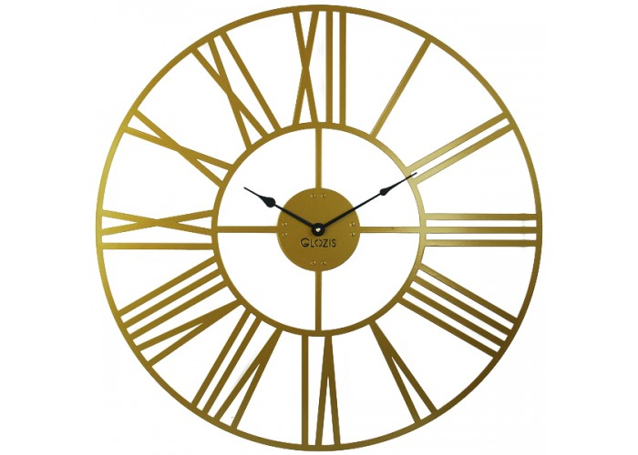 Большие Настенные Часы Glozis Cambridge Bronze B-034 70х70  1