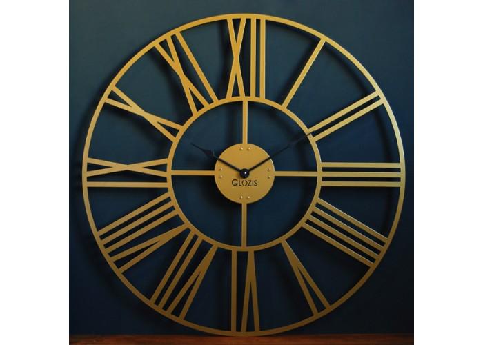 Большие Настенные Часы Glozis Cambridge Bronze B-034 70х70  2
