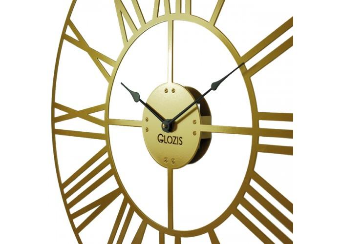 Большие Настенные Часы Glozis Cambridge Bronze B-034 70х70  3
