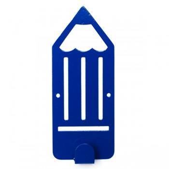 Вешалка настенная Детская Glozis Pencil Blue H-043 16 х 7см