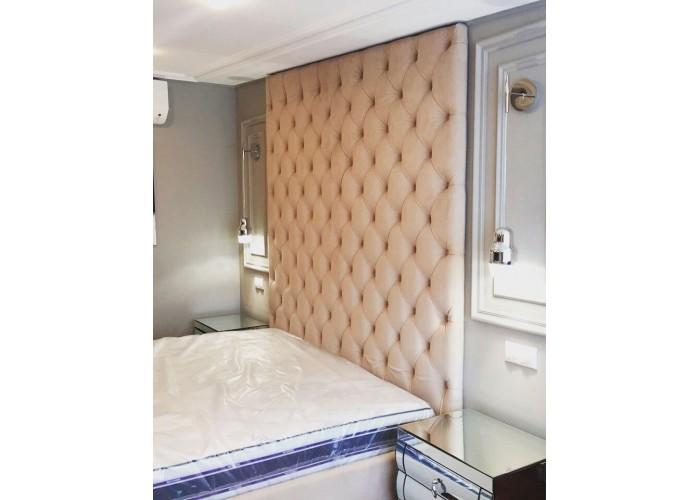 Кровать с мягкими панелями  4