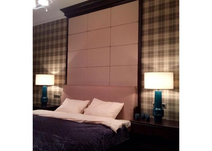 Кровать с мягкими панелями  5