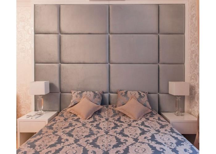 Кровать с мягкими панелями  6
