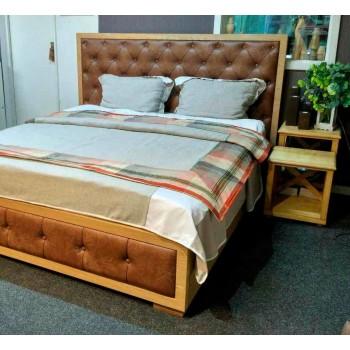 Кровать Егерь (с мягким изголовьем)