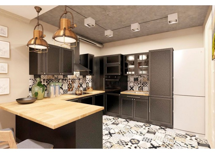 Eco-style kitchen 201 by Pinchuk ADT  1