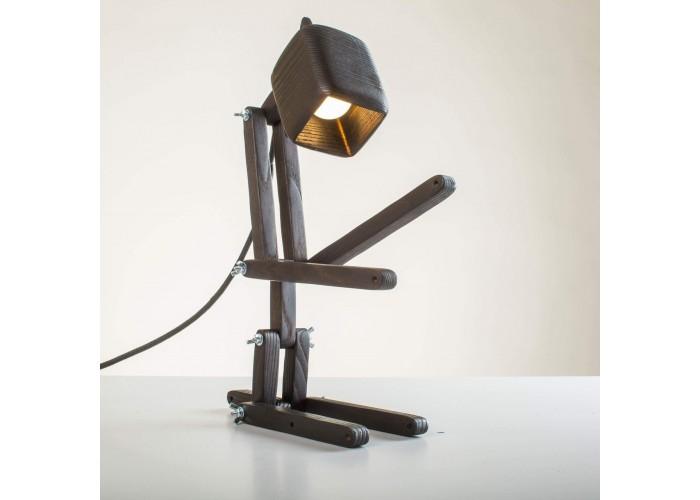 Настільна лампа FLAMPIC Basic Black  1