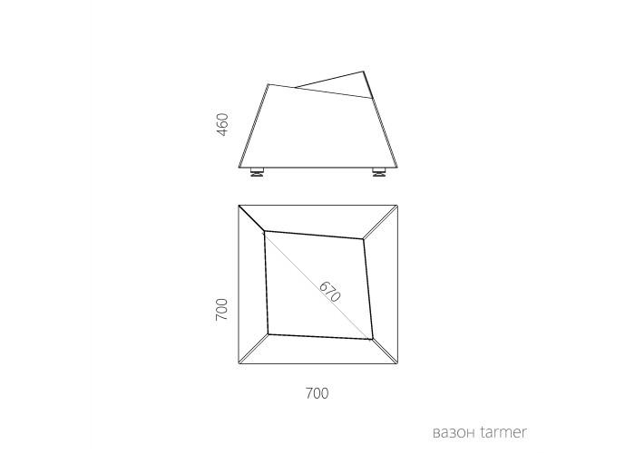 Уличный вазон Tarmer  8