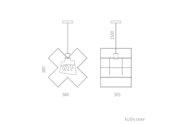 Подвесной светильник Kubis (LDZ-036)  12