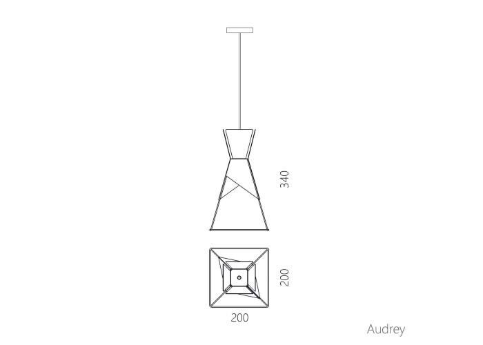 Подвесной светильник Audrey  11