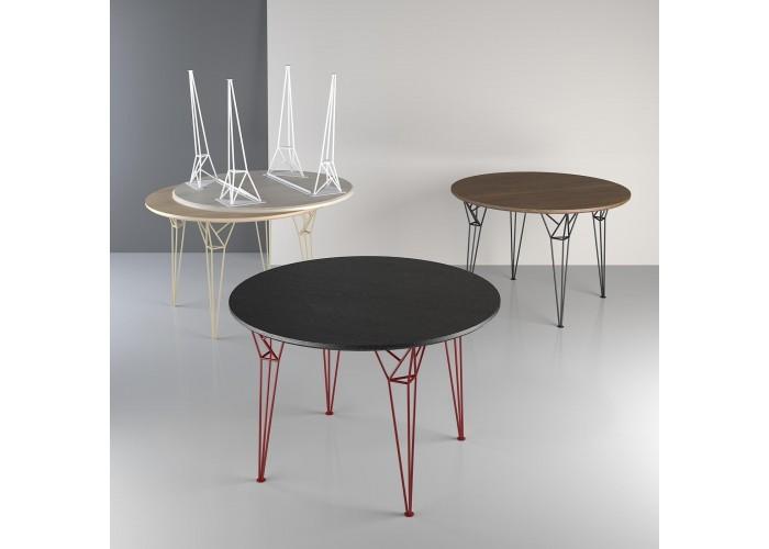 Обеденный стол Apollo круглый  4