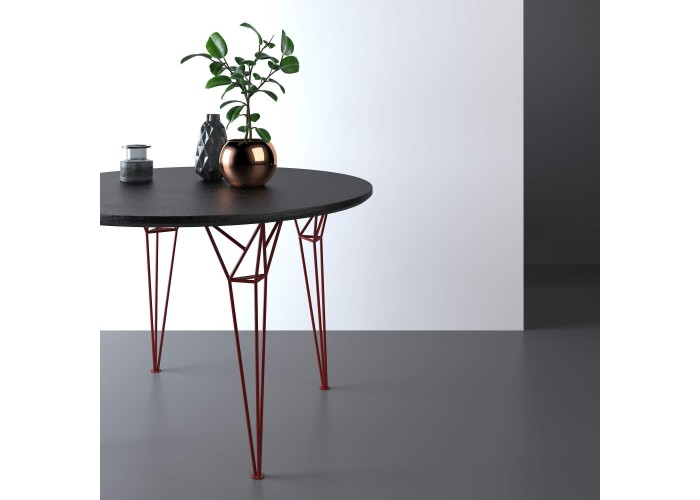 Обеденный стол Apollo круглый  8