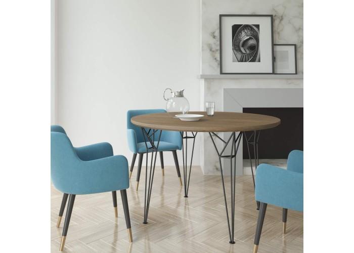 Обеденный стол Apollo круглый  7