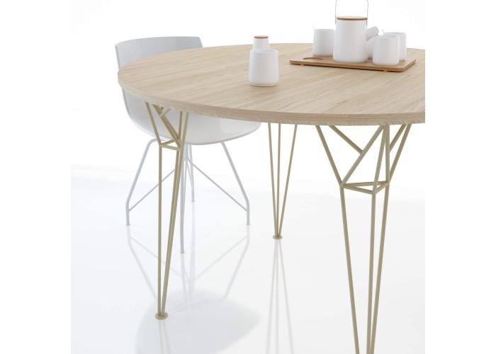 Обеденный стол Apollo круглый  6