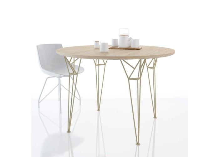 Обеденный стол Apollo круглый  5