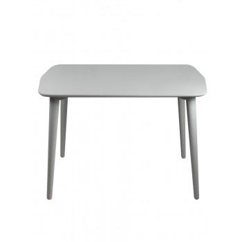 Стол Dan 75*110 серый шелк