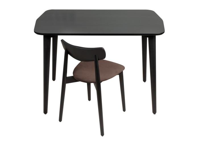 Стол Dan 75*110 черный  2