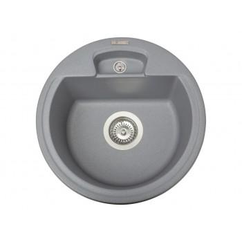 Кухонная мойка гранитная MIRAGGIO VALENCIA gray