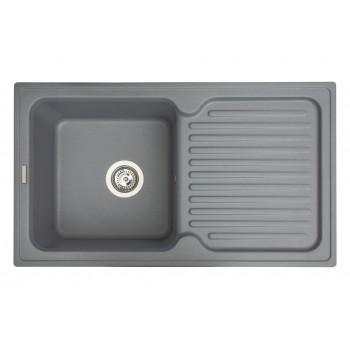 Кухонная мойка гранитная MIRAGGIO ORLEAN gray
