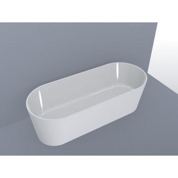 Ванна MIRAGGIO PROVIDENCE глянцевая с литого мрамора ( без перелива)
