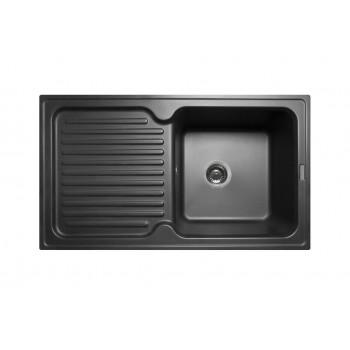 Кухонная мойка гранитная MIRAGGIO ORLEAN black
