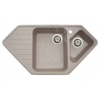 Кухонная мойка гранитная MIRAGGIO TIRRION sand
