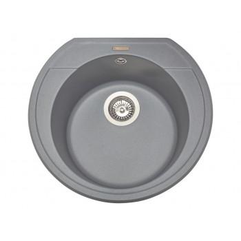 Кухонная мойка гранитная MIRAGGIO TULUZA gray