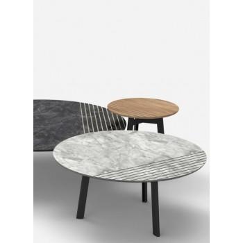 Журнальный столик Vintage - мод. Trio Ø 40