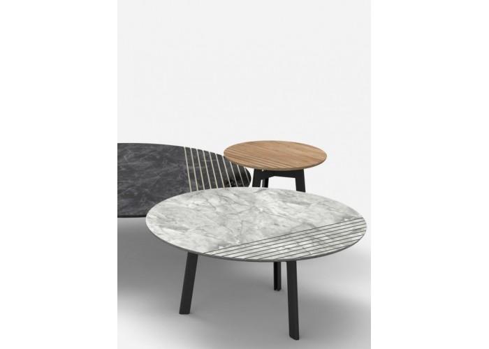 Журнальный столик Vintage - мод. Trio Ø 40  1