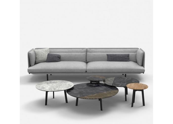 Журнальный столик Vintage - мод. Trio Ø 40  2