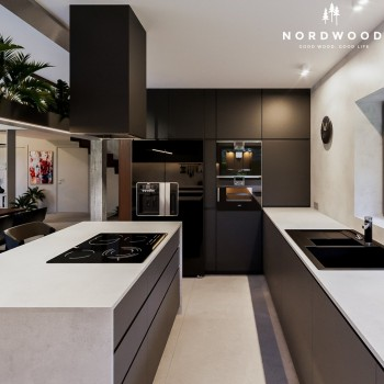 Кухня Nordic - мод. Modern Black