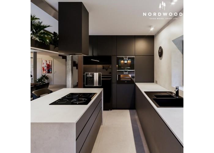 Кухня Nordic - мод. Modern Black  1