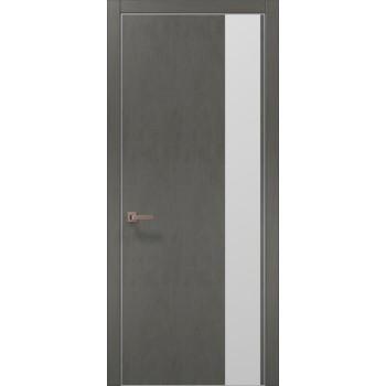 Plato-05 бетон серый алюминиевый торец