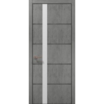 Plato-12 бетон светный алюминиевый торец