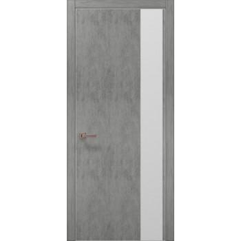 Plato-05 бетон светный алюминиевый торец