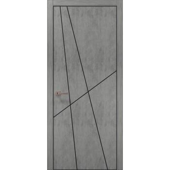 Plato-17 бетон светный алюминиевый торец