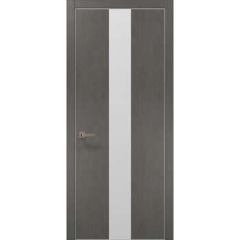 Plato-06 бетон серый алюминиевый торец