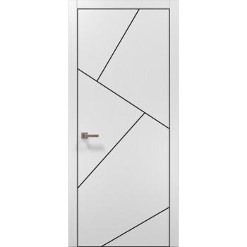 Plato-15 белый матовый алюминиевый торец