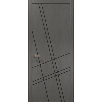 Plato-19 бетон светный алюминиевый торец