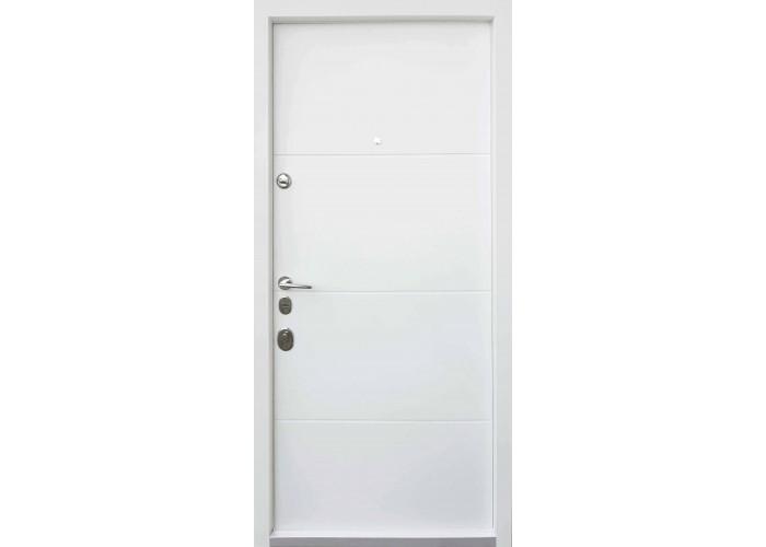 Дверь входная — Qdoors — мод. Горизонт - AL  2