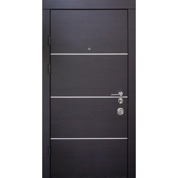 Дверь входная — Qdoors — мод. Горизонт - AL - Т