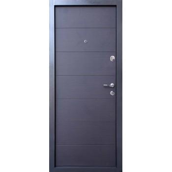 Дверь входная — Qdoors — мод. Горизонталь -Т
