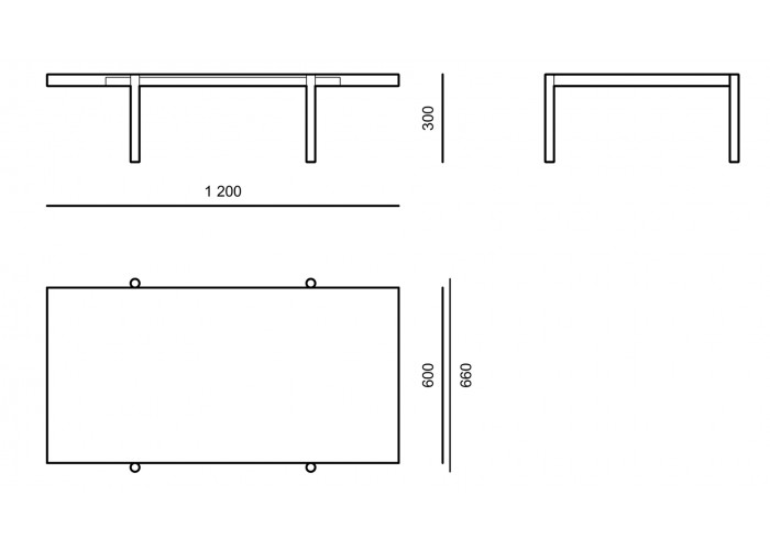Журнальный стол - Ray - CTE01  5