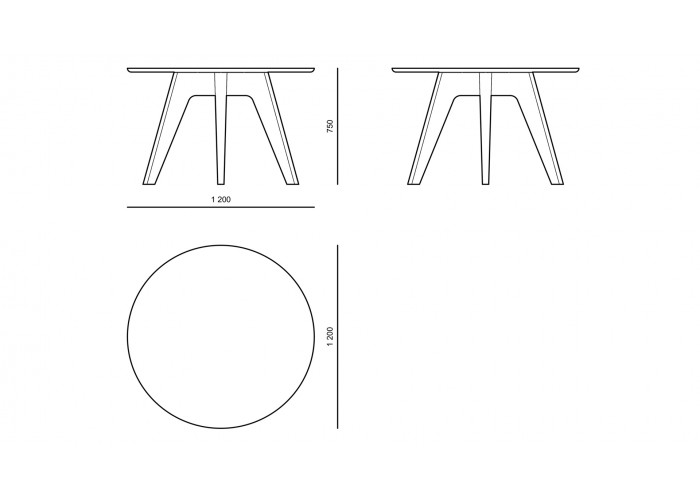 Стол - Basic - ТА01  5