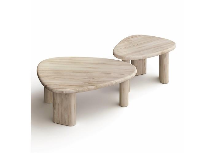 Журнальный стол Kruhlenʹkyy 3 (70х53хh42)  2