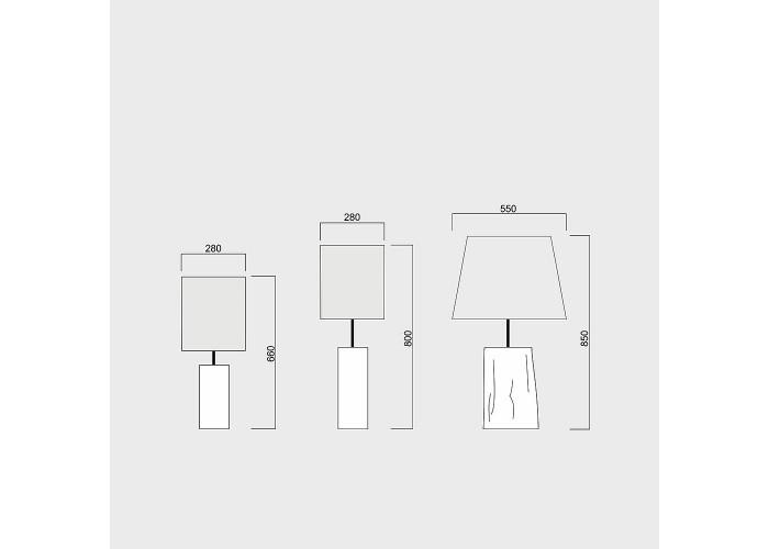 Светильник настольный Zatyshna  8