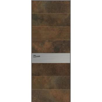 Loft L4 – короб Invisible Line без наличников – каменный шпон 3 мм.